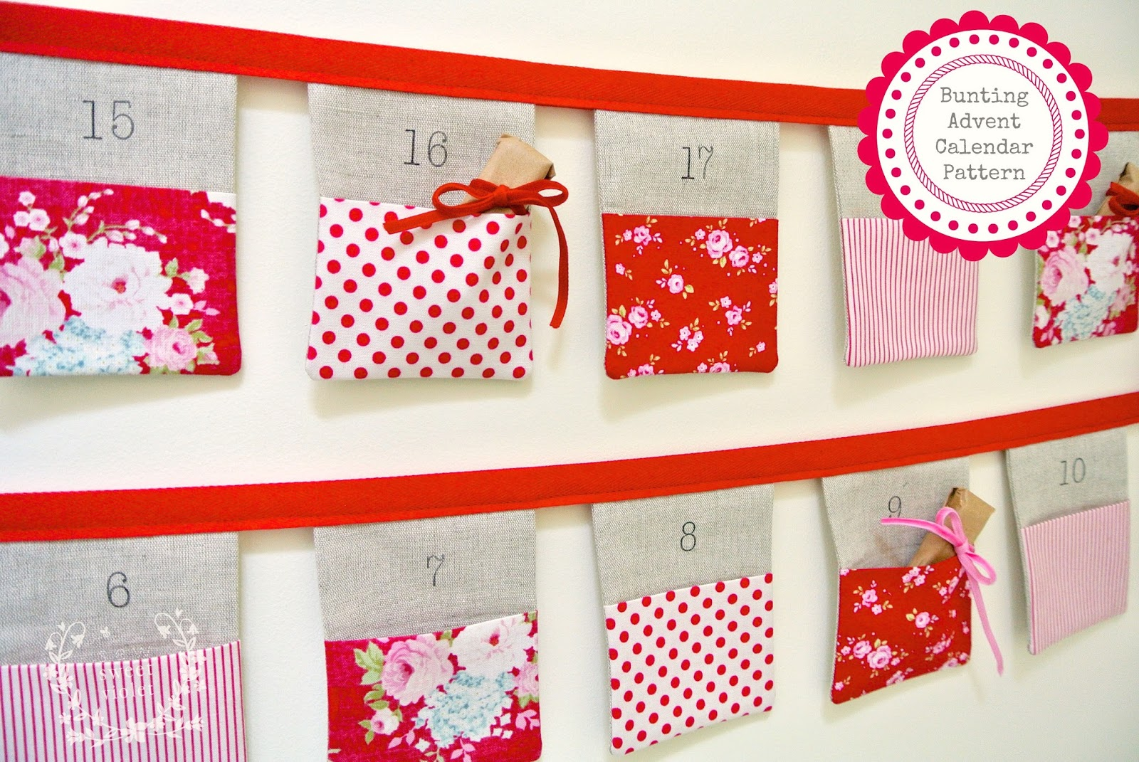 Sewn Advent Calendar Ideas : Sew sweet violet a sweetie weekie