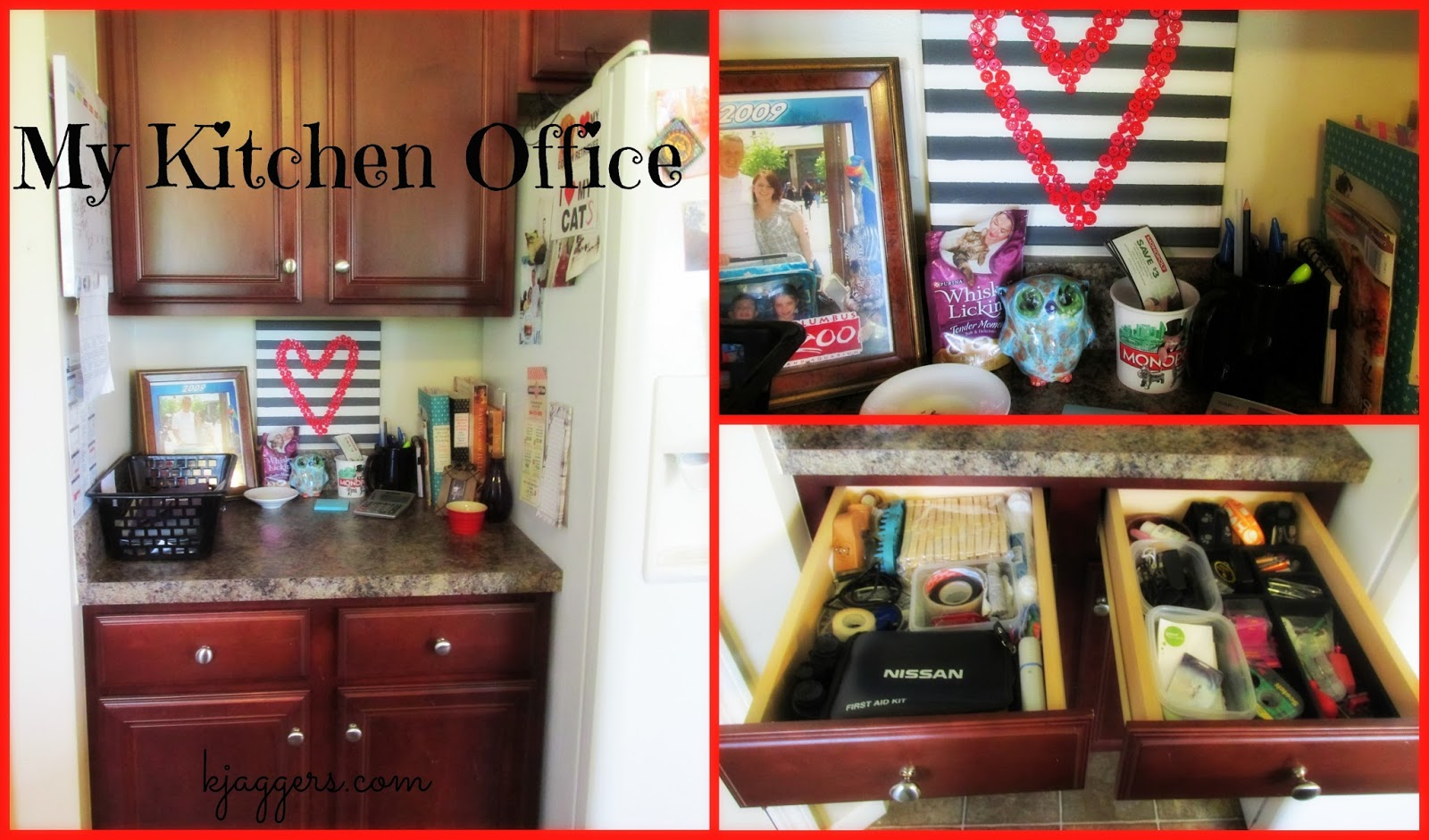 Kitchen Office Organization Home Organization My Kitchen Office Video Pictures And Info