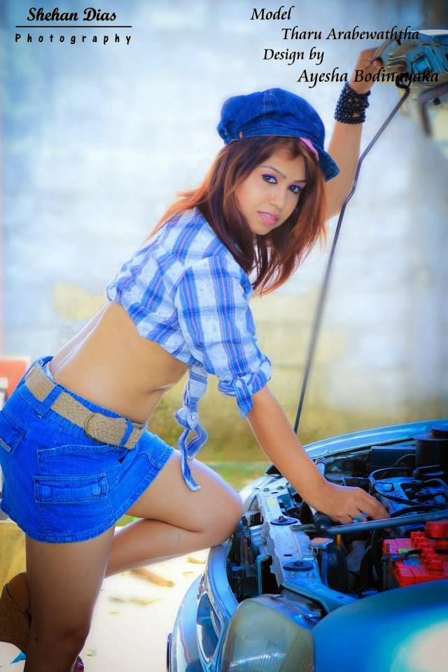 Tharu Arabewaththa sri lanka model