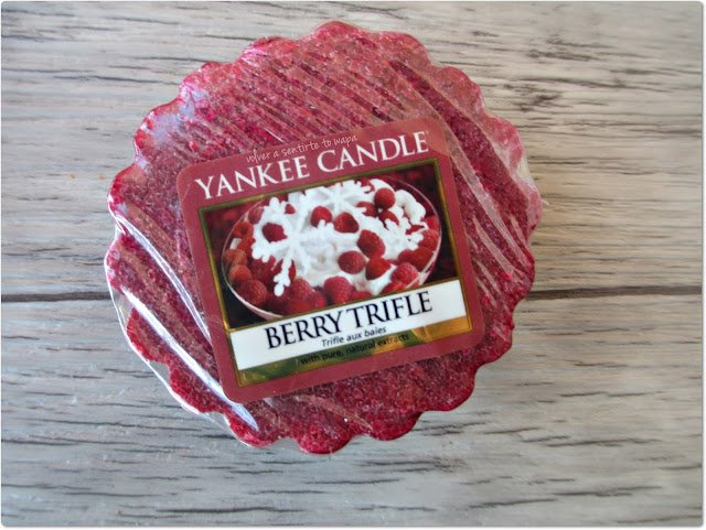 Yankee Candle - Berry Trifle