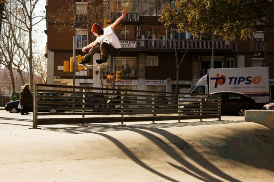 Ali Watson ollie