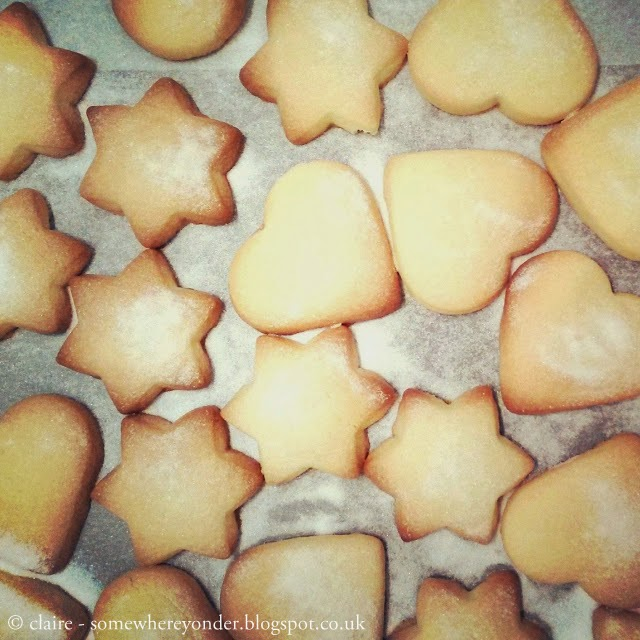 homemade Christmas shortbread