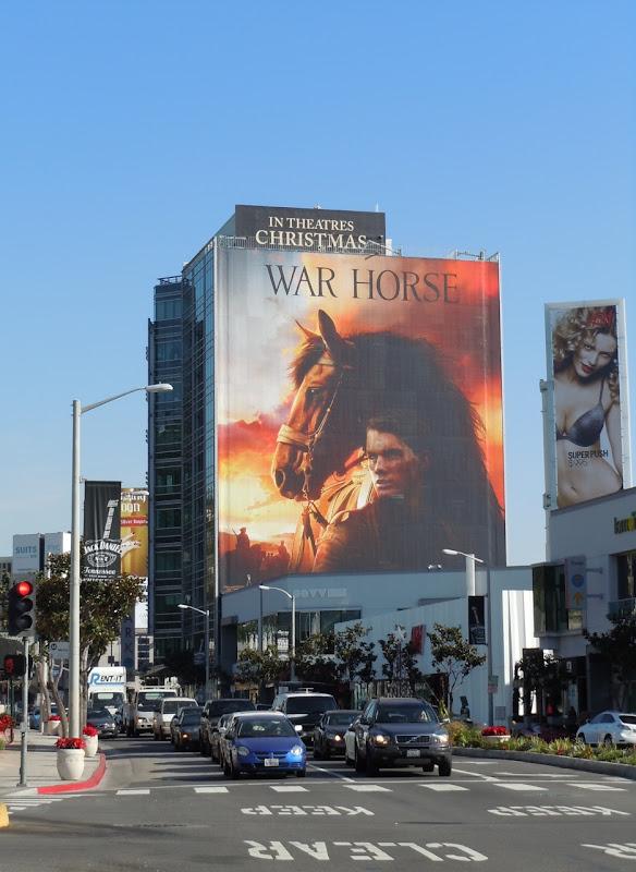Giant War Horse movie billboard