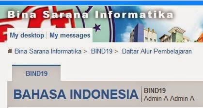 Kunci Jawaban Elearning BSI Bahasa Indonesia pertemuan 2