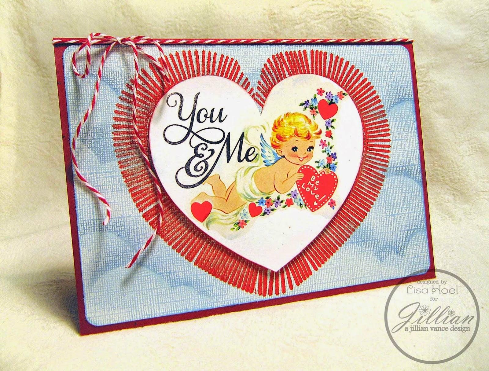 Lisa Hoel for A Jillian Vance Design - Valentine's Day Card