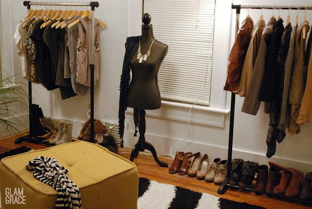DIY Dressing Room