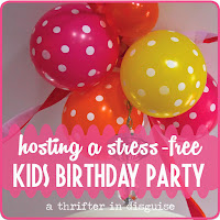 http://www.thrifterindisguise.com/2014/02/preschooler-birthday-party-diy-ideas.html