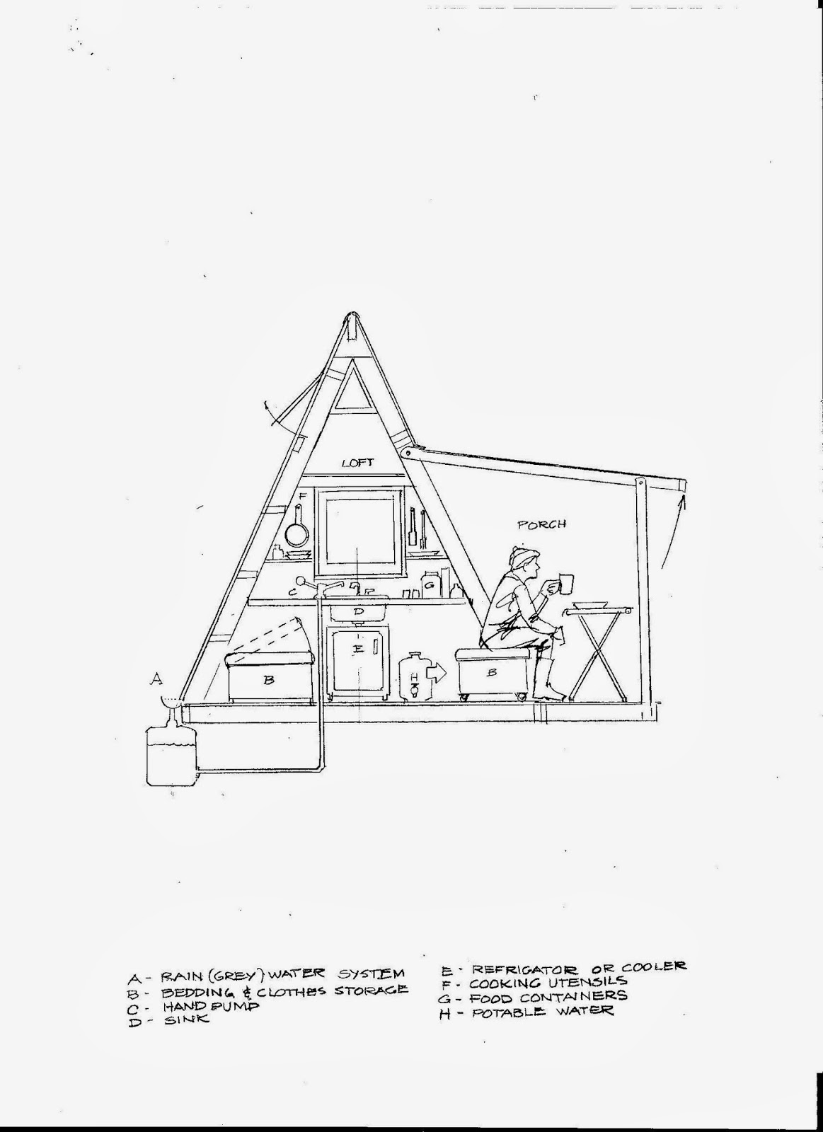 Frame Building Plans Free Relaxshacks Deek David Stiles And
