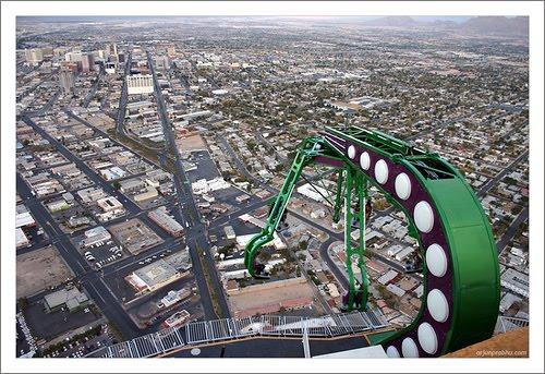 stratosphere las vegas rides. Stratosphere Thrill Rides in