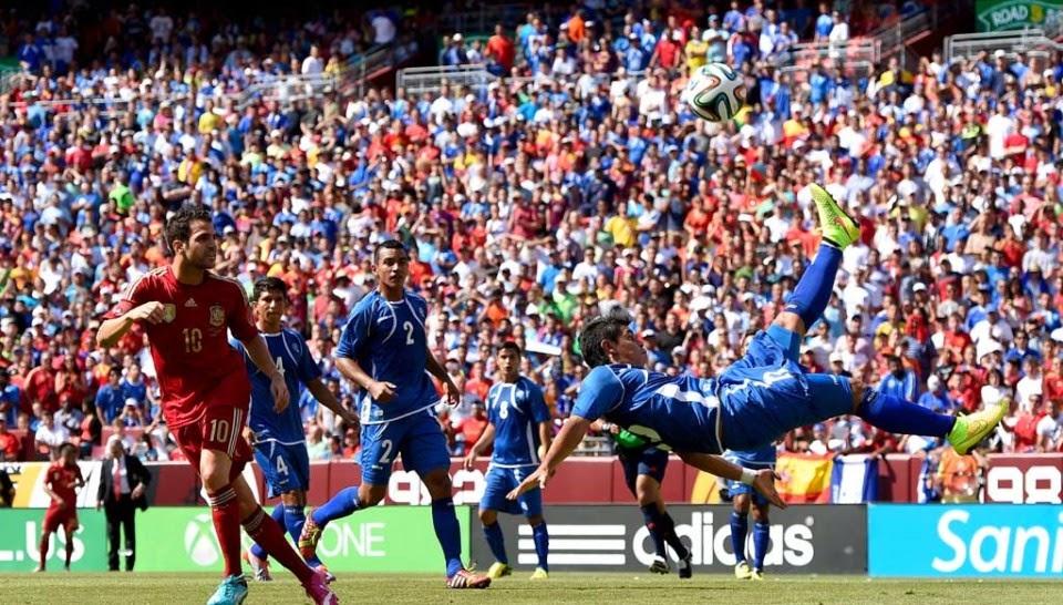 Juegos amistosos de la selección Salvadoreña