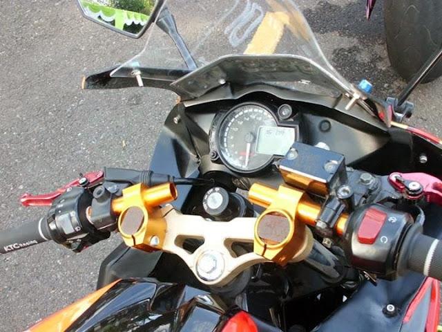 Modifikasi Vixion Sporty Model R125 Stang