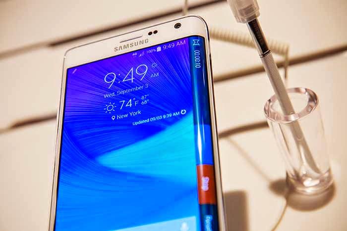 Novo Phablet da Samsung tela curva 3