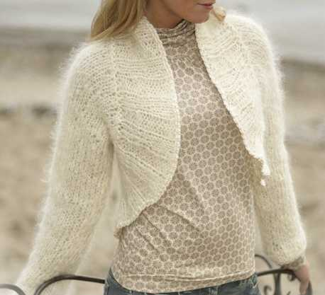 free knitting pattern: free new crochet bolero models