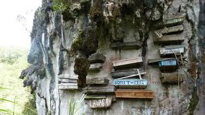 Hanging Coffins (Filipina)