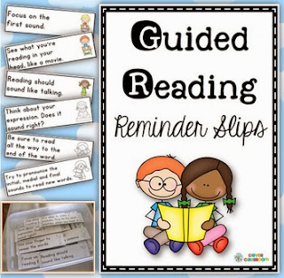 http://www.teacherspayteachers.com/Product/Guided-Reading-Reminder-Slips-Strategy-and-Skill-Helpers-997350