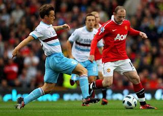 Tripleta De Rooney Con El Manchester United