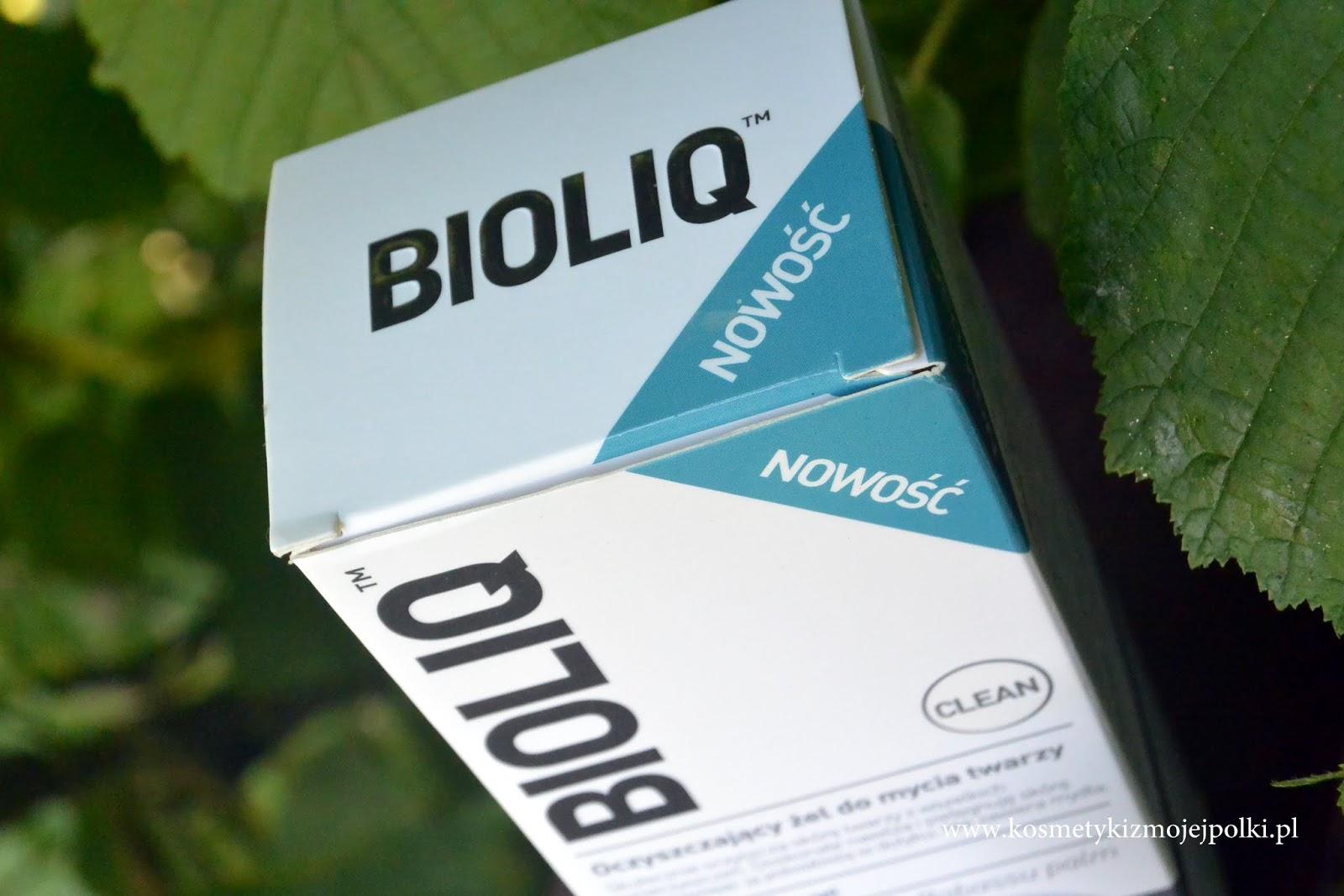 Oczyszczający żel do mycia twarzy z silikonową szczoteczką | BIOLIQ