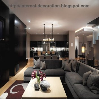 Contemporary Living Room on All Furniture In One Place  Modern Living Room Design Style
