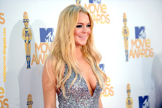 Lindsay Lohan MTV Movie Awards 2010