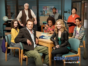 The Cast of Community, NBC, Dan Harmon, Chevy Chase