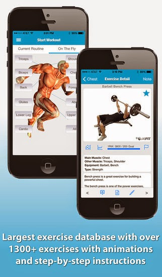 6. Jefit Pro Workout - Fitness & Exercise Tracking  System iphone app