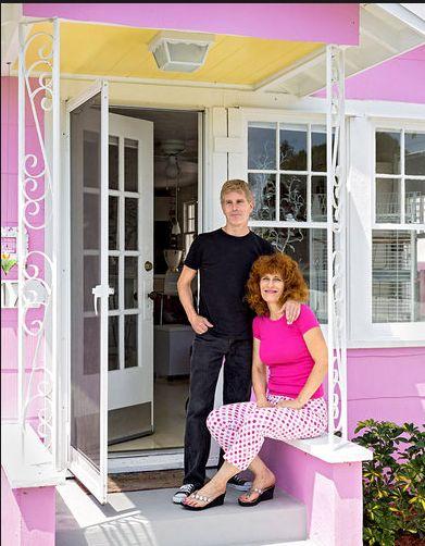 decoração casa pequena, decoração cor de rosa, casa de campo
