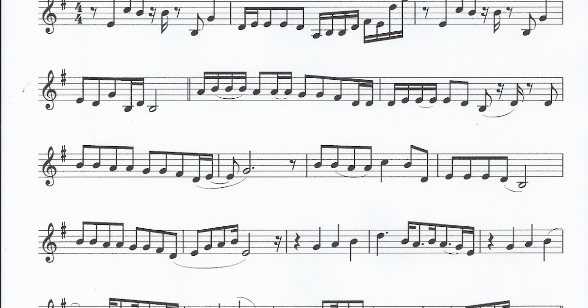 the sound of music alto sax sheet music pdf