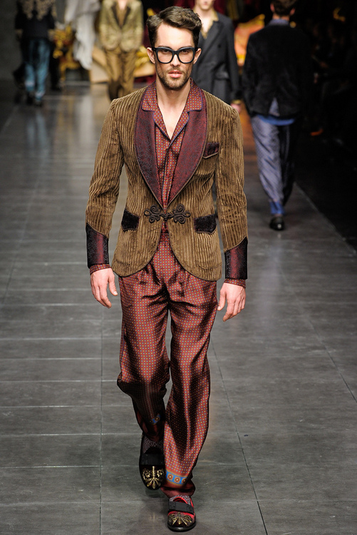 Dolce & Gabbana men's fashion