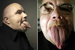 World's longest tongue – stephen taylor