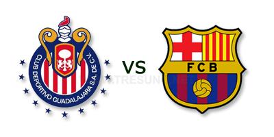 Chivas de Guadalajara vs FC Barcelona en vivo Gratis