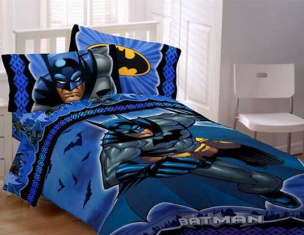 Superhero Bed Sheets for kids Photo