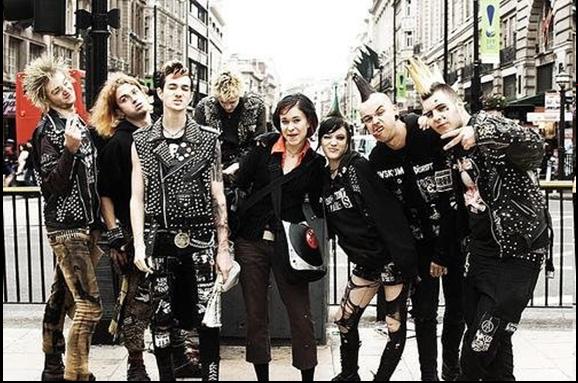 Punk Clothing 70s Many Punk Rockers Use Clothing