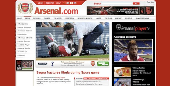 Arsenal woes continue...