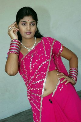 karuna star mallu in pink saree album hot photoshoot