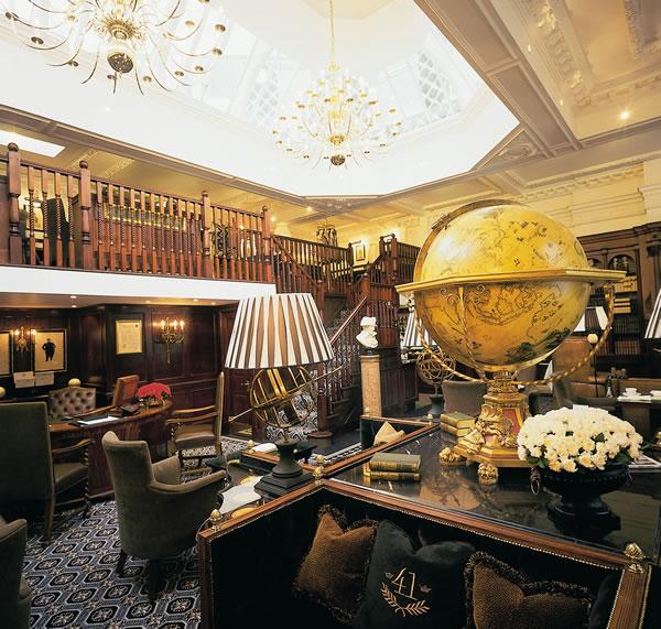world top hotels hotel 41 london. Black Bedroom Furniture Sets. Home Design Ideas