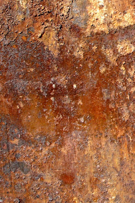 Rusted Metal iPhone 4 Wallpaper