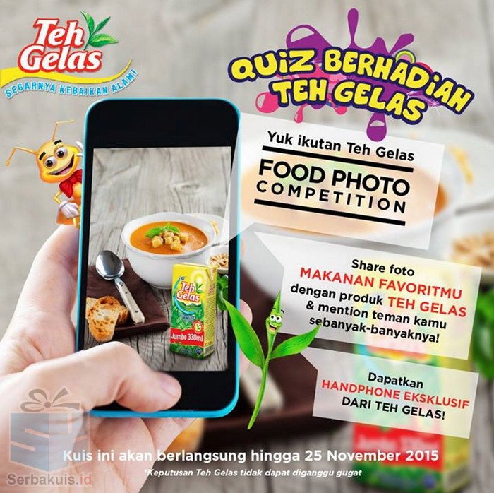 Teh Gelas Food Photo Competition