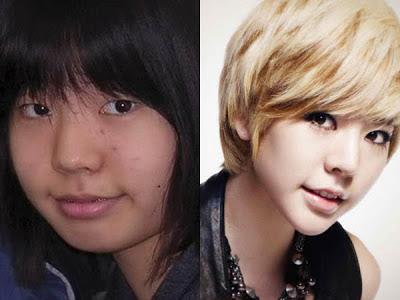 Foto masa kecil Sunny SNSD tampak berbeda dengan penampilannya saat ...