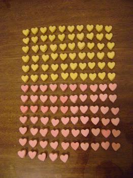 Jabones mini corazones!