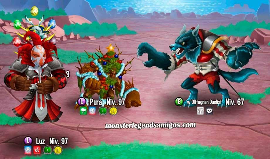 imagen de las nuevas batallas del mapa de aventuras de monster legends