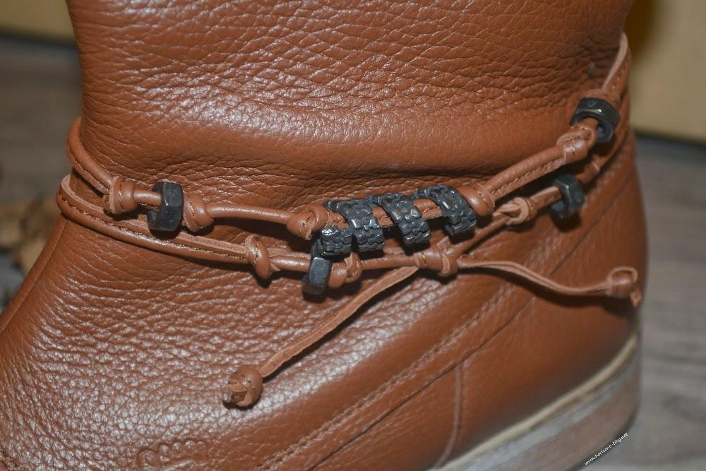 Tessamino - Stiefelette Nola von Natural Feet in Cognac (Braun)
