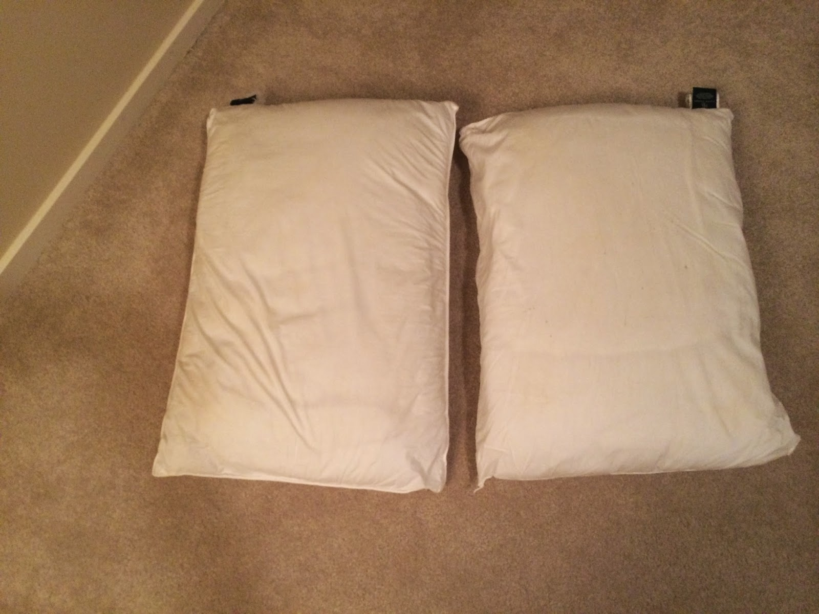 Pintest 365 day 147 how to wash whiten yellowed pillows fail - Whiten yellowed pillows ...