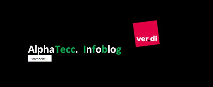 verdi Infoblog Alpha Tecc FO