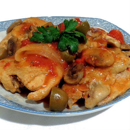 One Perfect Bite: Quick Chicken Cacciatore