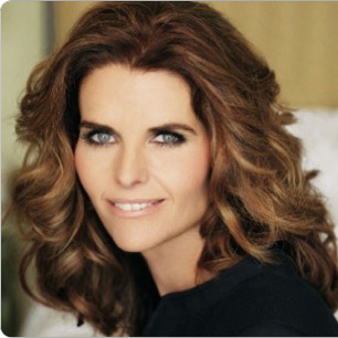 Maria Shriver: young and before plastic surgery? (image hosted by http://article46.blogspot.com)