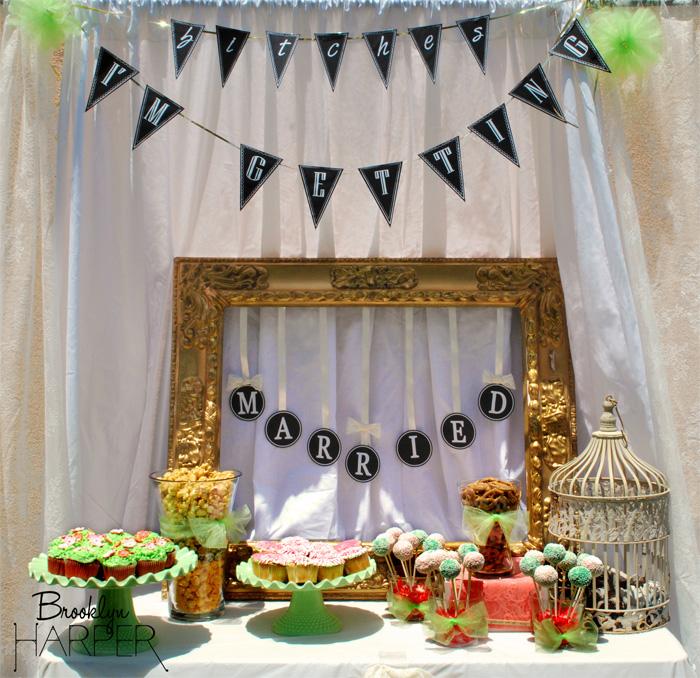 diy country garden bridal shower