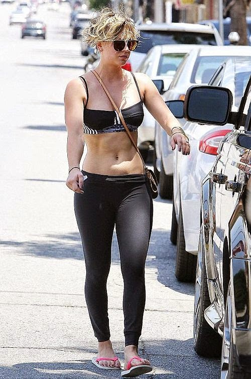 Talking about the healthy life, We think she is the reality and the kindest. And if you asking her about the outcome, Kaley Couco could directly explain its all by perfectly as she was seen leaving the yoga routine in Sherman Oaks, Los Angeles on Monday, September 15, 2014.