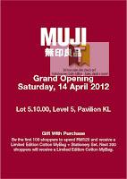 MUJI Grand Opening Pavilion KL