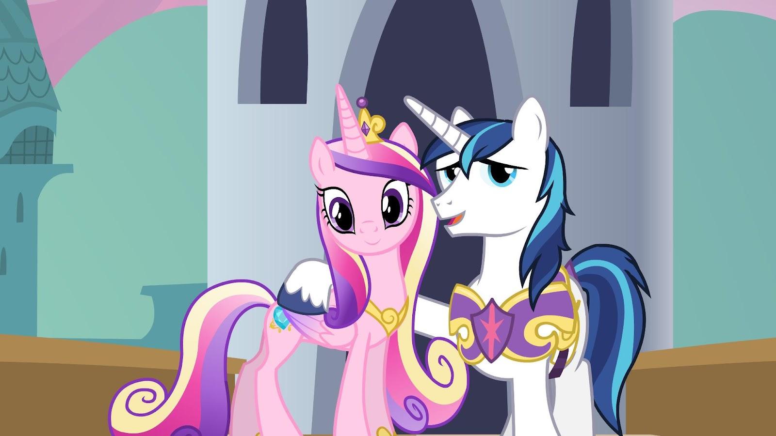 Princess Cadence and Shining Armor.