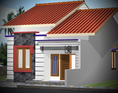 Desain Rumah Sederhana Ukuran 6x12 & Kumpulan Rumah Sederhana: HOT !!! Desain Rumah Sederhana Ukuran 6x12